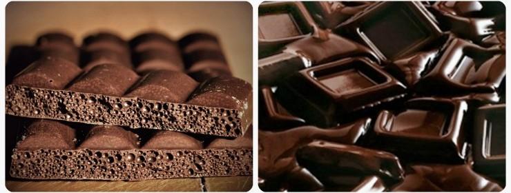 Технология производства пористого шоколада