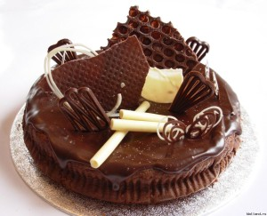 Быстрый шоколадный торт «Спринтер»