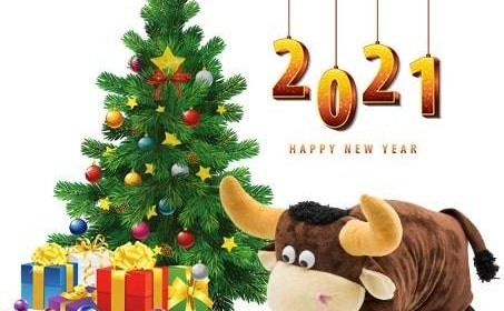 Что лучше подарить на новый год Металлического Быка – сладости!