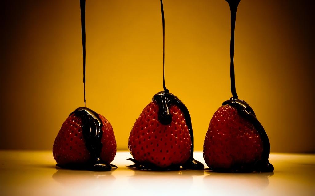 Клубника в шоколаде2