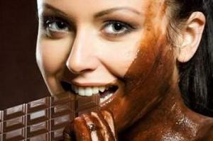 Маски для лица и тела из шоколада