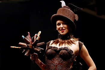 Московский Салон Шоколада - сладкий подарок прелестным дамам-1