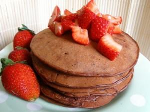 Шоколадные оладьи-3