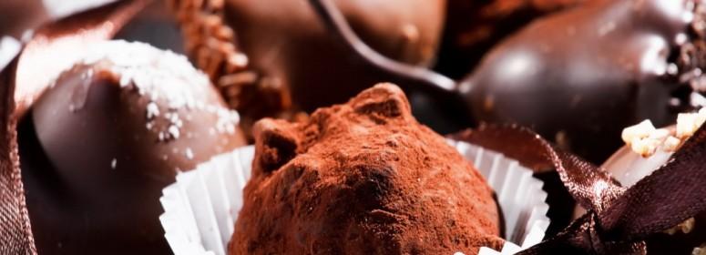 Шоколадные трюфели с сюрпризом-21