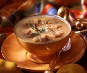Суп грибной с чечевицей-1