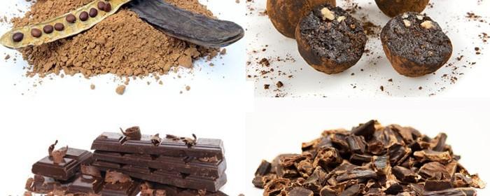сыроеденый шоколад из кэроба