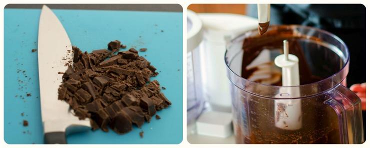 Как растопить шоколад в духовке?