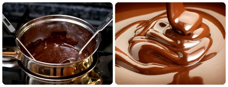 Как растопить шоколад на паровой бане?