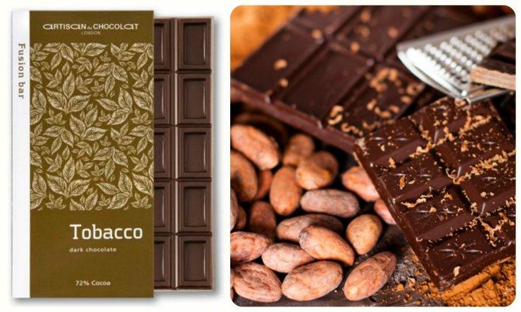 Шоколад с табаком